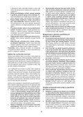BlackandDecker Smerigliatrice Angol- Kg2205 - Type 1 - Instruction Manual (Czech) - Page 6
