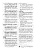 BlackandDecker Smerigliatrice Angol- Kg2205 - Type 1 - Instruction Manual (Czech) - Page 7