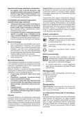 BlackandDecker Smerigliatrice Angolare Piccola- Kg750 - Type 1 - Instruction Manual (Ungheria) - Page 6