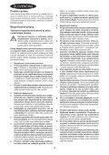 BlackandDecker Smerigliatrice Angolare Piccola- Kg750 - Type 1 - Instruction Manual (Slovacco) - Page 4