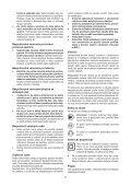 BlackandDecker Smerigliatrice Angolare Piccola- Kg750 - Type 1 - Instruction Manual (Slovacco) - Page 7