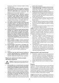 BlackandDecker Piallatrice- Kw712 - Type 2 - Instruction Manual (Polonia) - Page 5