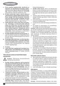BlackandDecker Piallatrice- Kw712 - Type 2 - Instruction Manual (Europeo Orientale) - Page 6