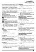 BlackandDecker Piallatrice- Kw712 - Type 2 - Instruction Manual (Europeo Orientale) - Page 7
