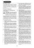 BlackandDecker Smerigliatrice Angol- Kg2205 - Type 1 - Instruction Manual (Romania) - Page 4