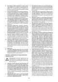 BlackandDecker Smerigliatrice Angol- Kg2205 - Type 1 - Instruction Manual (Romania) - Page 5