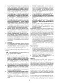 BlackandDecker Maschera Da Taglio- Ks900s(K) - Type 1 - Instruction Manual (Romania) - Page 6