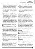 BlackandDecker Smerigliatrice Angol- Kg2205 - Type 1 - Instruction Manual (Europeo) - Page 7