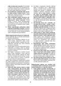 BlackandDecker Sega Circolare- Ks1300 - Type 1 - Instruction Manual (Slovacco) - Page 6