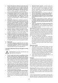 BlackandDecker Maschera Da Taglio- Ks495 - Type 1 - Instruction Manual (Romania) - Page 4