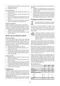 BlackandDecker Maschera Da Taglio- Ks495 - Type 1 - Instruction Manual (Romania) - Page 6