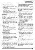 BlackandDecker Maschera Da Taglio- Ks495 - Type 1 - Instruction Manual (Lituania) - Page 7