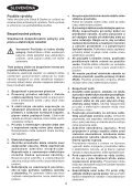 BlackandDecker Sega Circolare- Cd601 - Type 2 - Instruction Manual (Slovacco) - Page 4