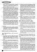 BlackandDecker Sega Circolare- Cd601 - Type 2 - Instruction Manual (Europeo Orientale) - Page 6