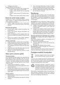 BlackandDecker Maschera Da Taglio- Ks700pe - Type 1 - Instruction Manual (Romania) - Page 6
