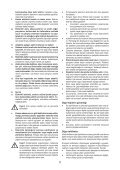 BlackandDecker Utensile Multifunzione- Hpl108 - Type H1 - Instruction Manual (Turco) - Page 5