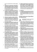 BlackandDecker Sega Circolare- Ks1300 - Type 1 - Instruction Manual (Romania) - Page 5