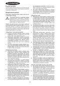 BlackandDecker Sega Circolare- Ks1600lk - Type 1 - Instruction Manual (Slovacco) - Page 4