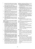 BlackandDecker Sega Circolare- Ks1600lk - Type 1 - Instruction Manual (Slovacco) - Page 6