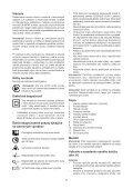 BlackandDecker Sega Circolare- Ks1600lk - Type 1 - Instruction Manual (Slovacco) - Page 7