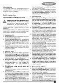 BlackandDecker Sega Circolare- Cd602 - Type 1 - Instruction Manual (Europeo Orientale) - Page 5
