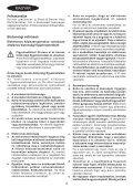 BlackandDecker Sega Circolare- Cd602 - Type 1 - Instruction Manual (Ungheria) - Page 4