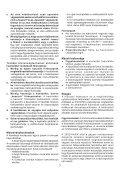BlackandDecker Sega Circolare- Cd602 - Type 1 - Instruction Manual (Ungheria) - Page 7