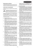 BlackandDecker Maschera Da Taglio- Ks500 - Type 1 - Instruction Manual (Romania) - Page 3