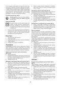 BlackandDecker Maschera Da Taglio- Ks500 - Type 1 - Instruction Manual (Romania) - Page 5