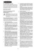 BlackandDecker Utensile Multifunzione- Hpl108 - Type H1 - Instruction Manual (Ungheria) - Page 4