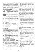 BlackandDecker Maschera Da Taglio- Ks800e - Type 1 - Instruction Manual (Romania) - Page 5
