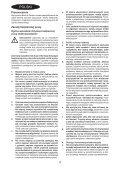 BlackandDecker Seghetto Alternativo A Batteria- Hpl10rs - Type H1 - Instruction Manual (Polonia) - Page 4