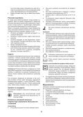 BlackandDecker Seghetto Alternativo A Batteria- Hpl10rs - Type H1 - Instruction Manual (Polonia) - Page 6
