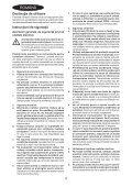 BlackandDecker Maschera Da Taglio- Ks602e - Type 1 - Instruction Manual (Romania) - Page 4