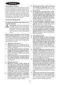 BlackandDecker Utensile Multifunzione- Mt250 - Type 1 - Instruction Manual (Romania) - Page 4
