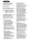 BlackandDecker Seghetto Alternativo- Rs1050e(K) - Type 1 - Instruction Manual (Ungheria) - Page 4