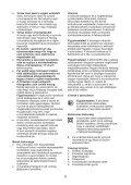 BlackandDecker Seghetto Alternativo- Rs1050e(K) - Type 1 - Instruction Manual (Ungheria) - Page 6