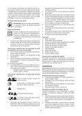BlackandDecker Maschera Da Taglio- Ks800sl - Type 1 - Instruction Manual (Romania) - Page 7