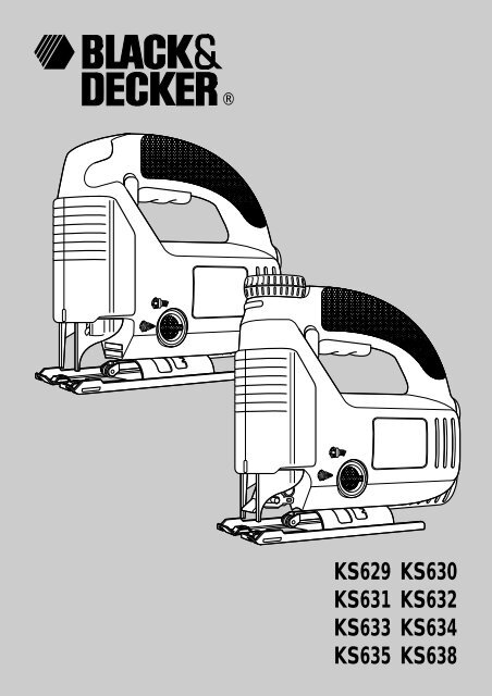 Blackanddecker Maschera Da Taglio Ks631 Type 3 Instruction
