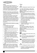 BlackandDecker Sega Orizzontale- Chs6000---A - Type H1 - Instruction Manual (Europeo) - Page 6