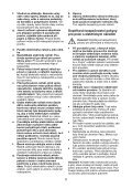 BlackandDecker Maschera Da Taglio- Ks2005ek - Type 1 - Instruction Manual (Czech) - Page 5