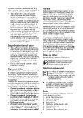 BlackandDecker Maschera Da Taglio- Ks2005ek - Type 1 - Instruction Manual (Czech) - Page 6