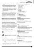 BlackandDecker Sega Taglio- Rs890 - Type 1 - Instruction Manual (Europeo) - Page 5