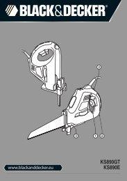 BlackandDecker Sega- Ks890e - Type 2 - Instruction Manual (Europeo)