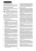 BlackandDecker Maschera Da Taglio- Ks603e - Type 1 - Instruction Manual (Romania) - Page 4