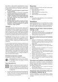 BlackandDecker Maschera Da Taglio- Ks603e - Type 1 - Instruction Manual (Romania) - Page 6
