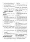 BlackandDecker Maschera Da Taglio- Ks603e - Type 1 - Instruction Manual (Romania) - Page 7