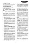 BlackandDecker Sega Taglio- Ks880ec - Type 2 - Instruction Manual (Romania) - Page 3