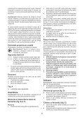 BlackandDecker Sega Taglio- Ks880ec - Type 2 - Instruction Manual (Romania) - Page 5