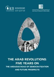The Arab Revolutions Five Years On